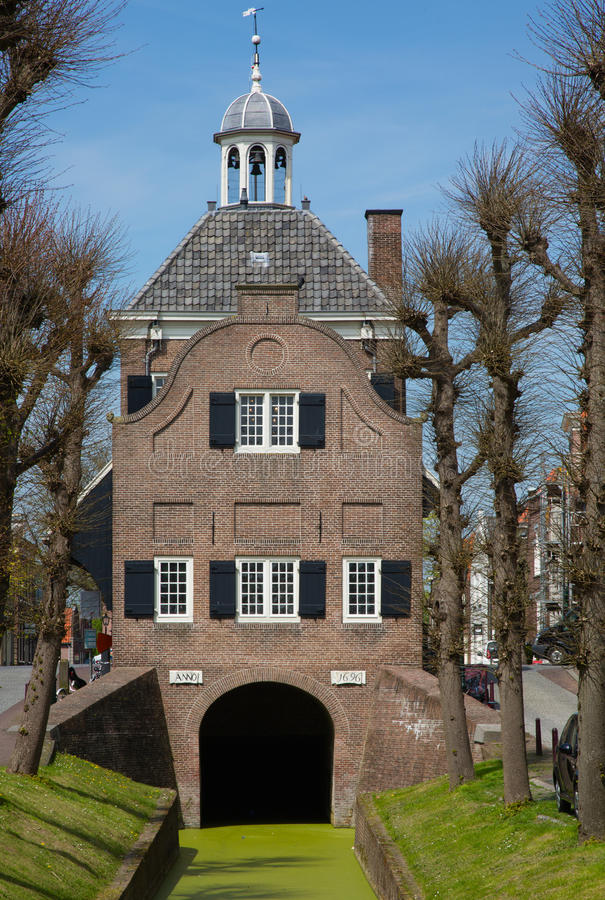 Здание муниципалитет Nieuwpoort стоковая фотография