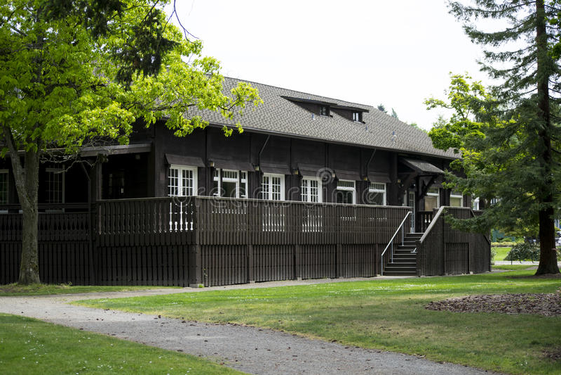 Здание парка Titlow стоковые изображения