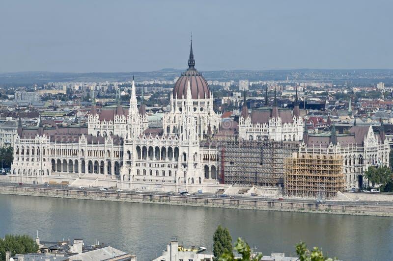 Здание парламента на Будапешт, Венгрии стоковые изображения