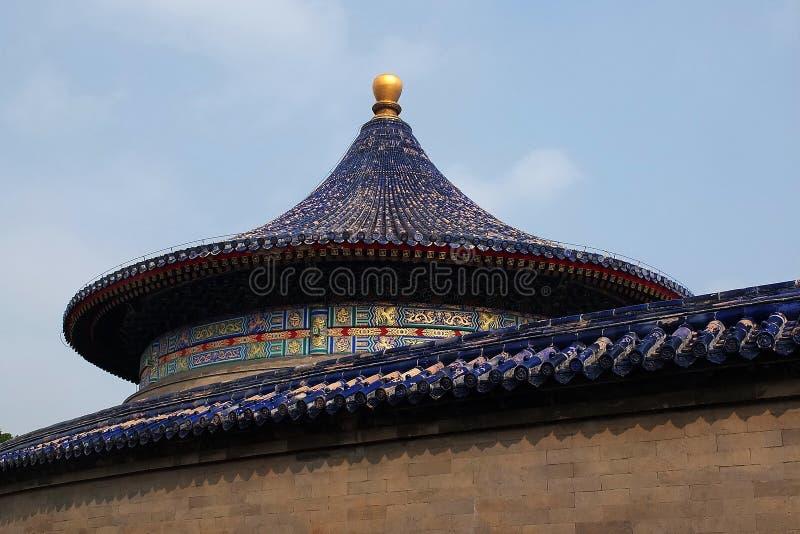 Здание Пекина историческое - парк TianTan стоковое фото rf
