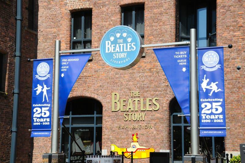 Здание рассказа Beatles, Ливерпуль стоковое изображение