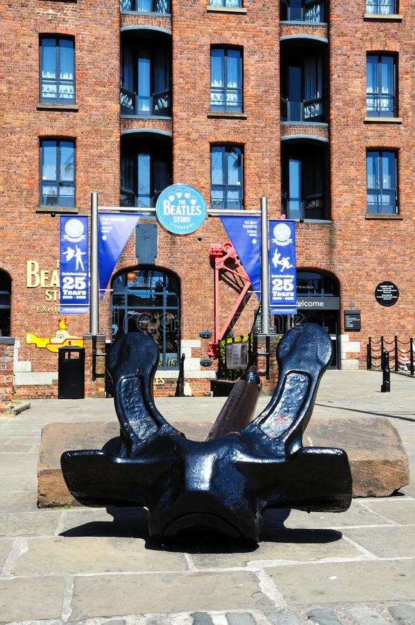 Здание рассказа Beatles, Ливерпуль стоковые изображения rf
