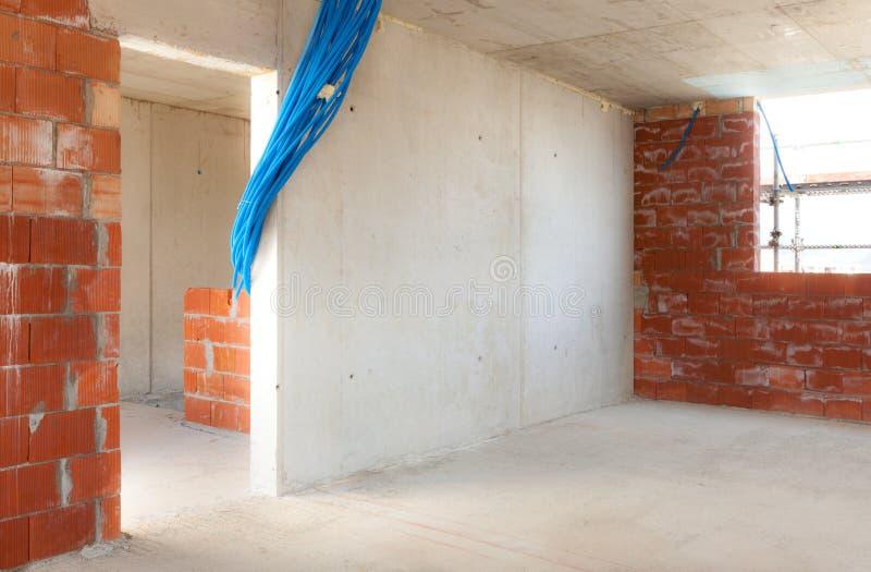 Download Здание, строительная площадка Стоковое Изображение - изображение насчитывающей взгляд, стена: 40576569