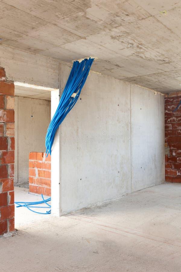 Download Здание, строительная площадка Стоковое Фото - изображение насчитывающей окно, пол: 40576650