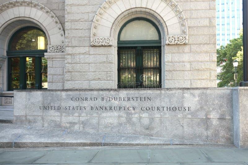 Здание суда банкротства Соединенных Штатов стоковое фото