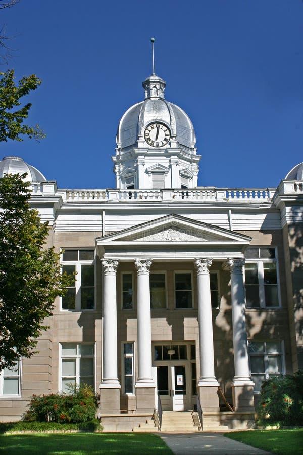 Здание суда Cleveland County стоковая фотография rf