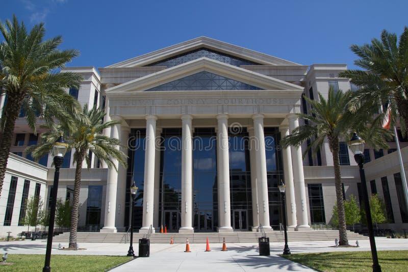 Здание суда Duval County стоковое фото rf