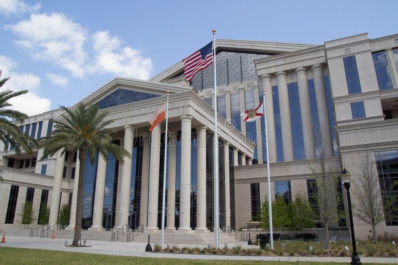 Здание суда Duval County стоковое изображение