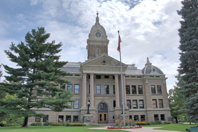 Здание суда Ingham County стоковые изображения