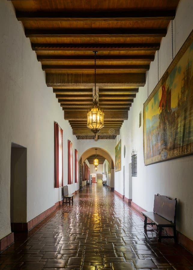 здание суда santa Барвары стоковое фото