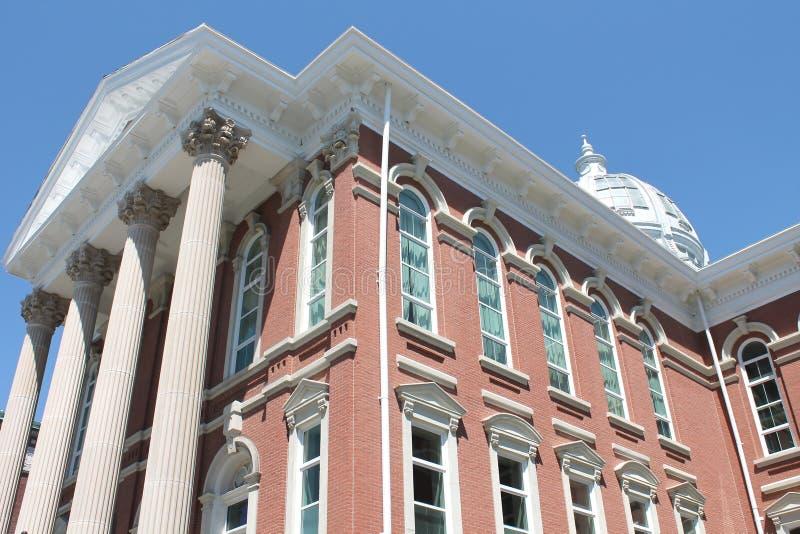 Здание суда-St Иосиф Buchanan County, Миссури стоковые изображения