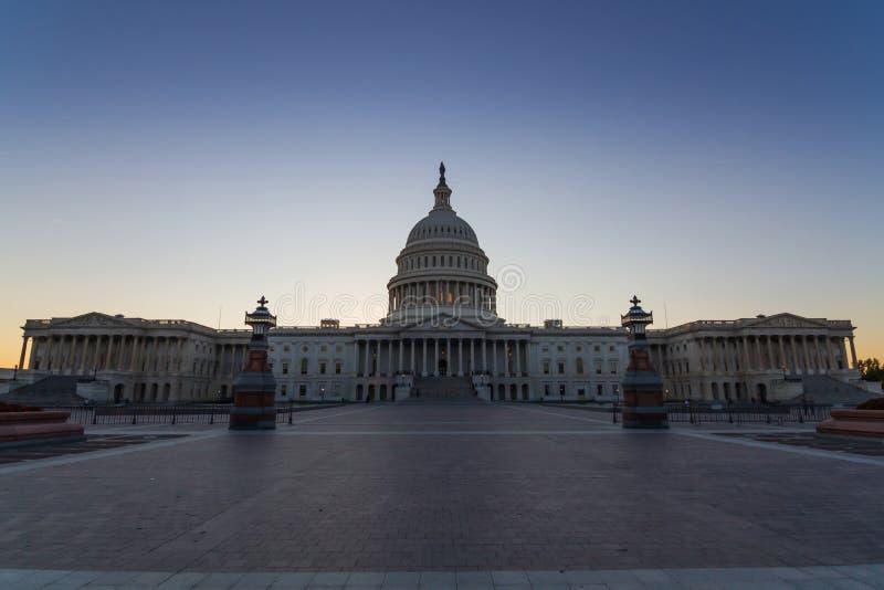 Здание США прописное в DC Вашингтона, США стоковые фото