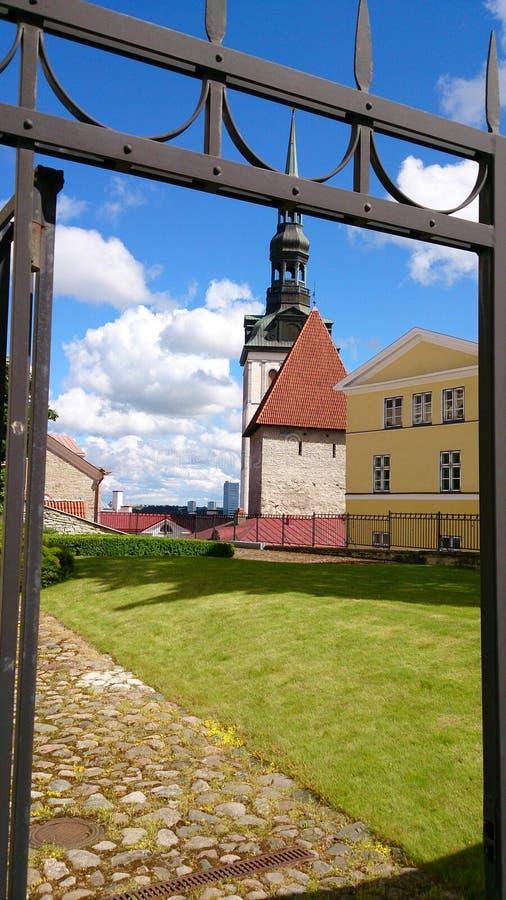Здание Таллина стоковое изображение rf