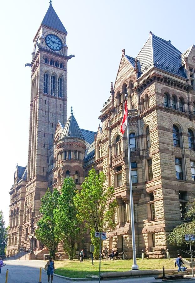 Здание Торонто муниципальное стоковое изображение rf
