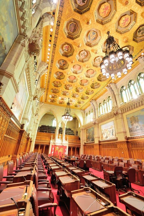 Здание холма парламента Канады стоковое изображение