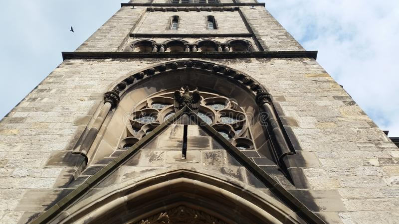 Здание церкви Detmold стоковое фото rf