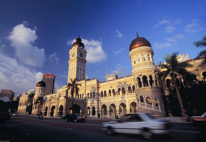 Здание Abdul Samad султана, Куала Лумпур, Малайзия стоковое изображение