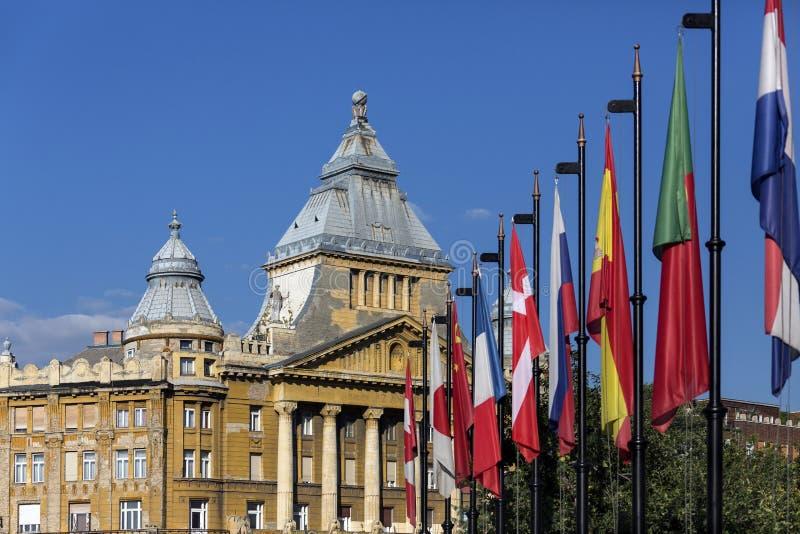 Здание Anker - Будапешт - Венгрия стоковое фото