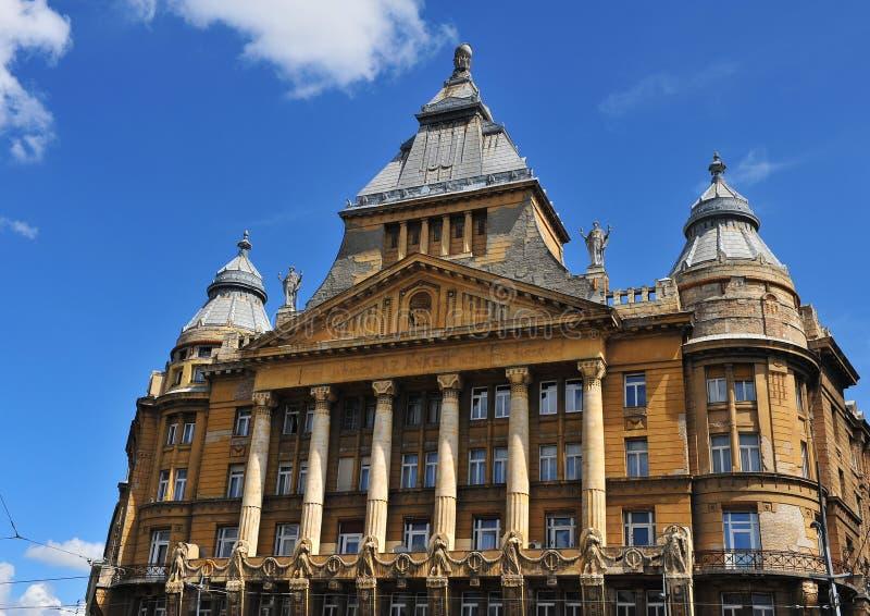 Здание Az Anker, Будапешт стоковое изображение rf