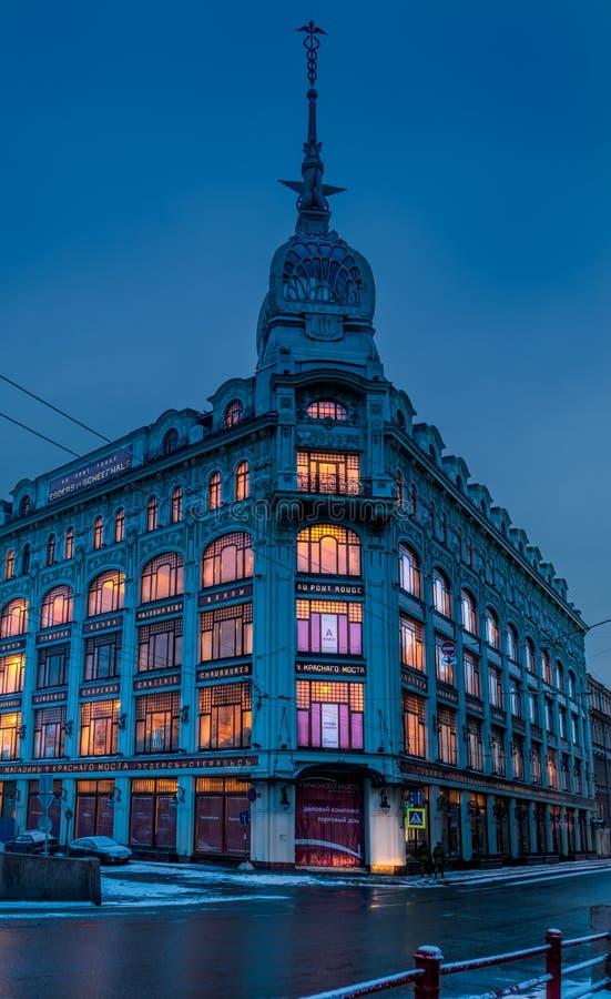 Здание Esders и Scheefhaals стоковая фотография rf