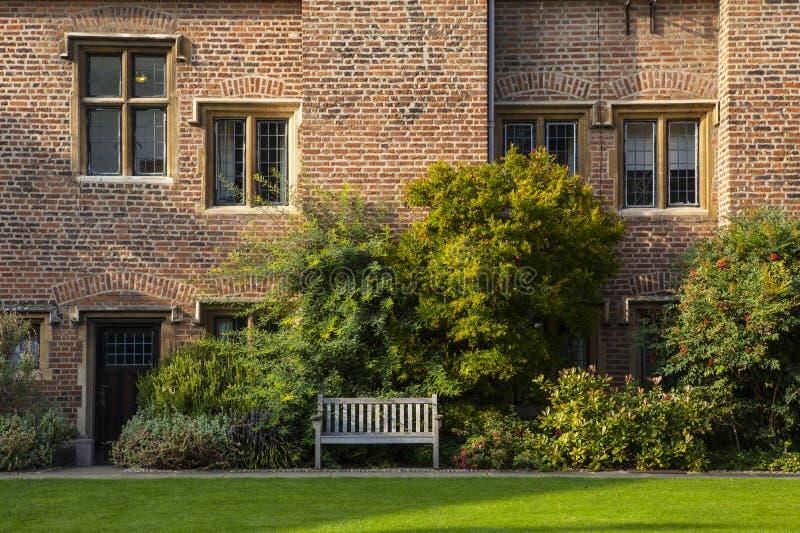 Здание Hitcham на коллеже Пембрука в Кембридже стоковые фотографии rf