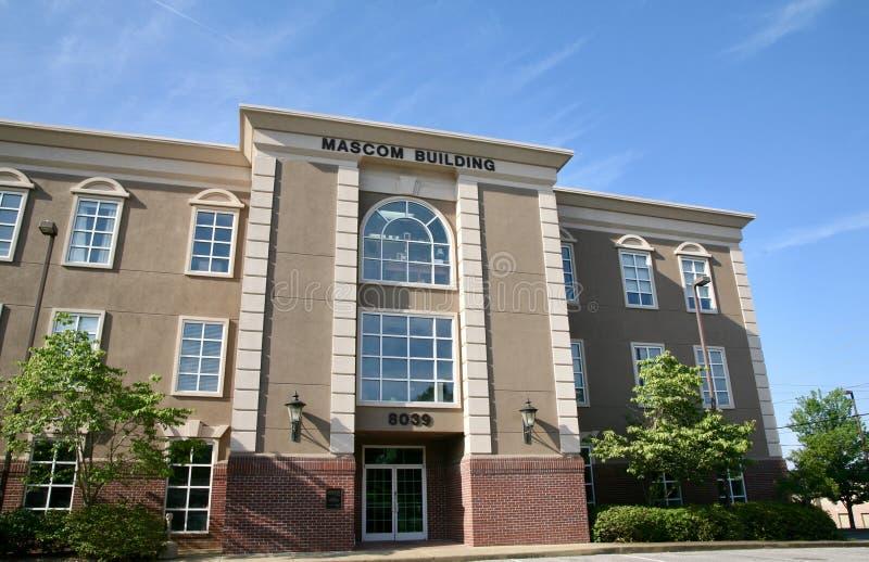 Здание Mascom стоковое фото rf