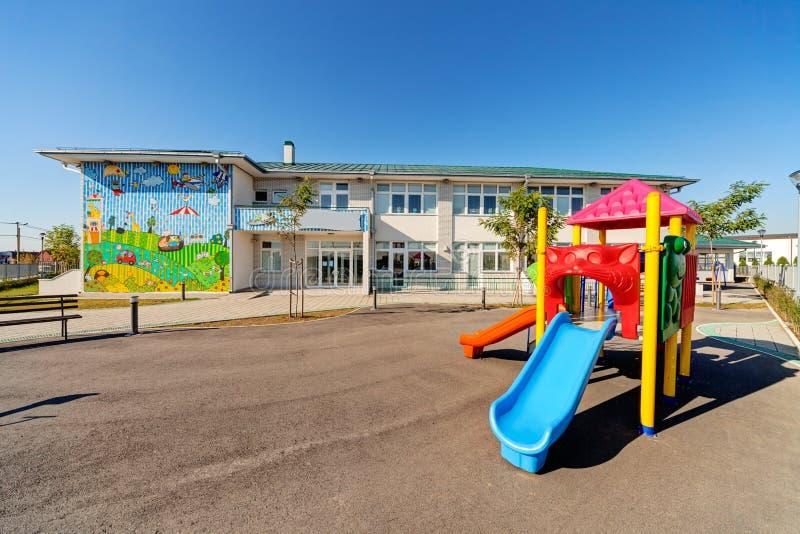 Здание Preschool стоковое фото