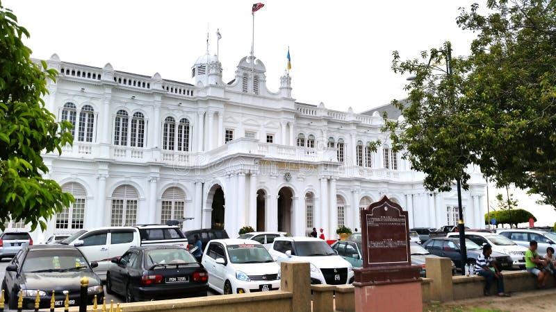 Здание Pulau Pinang стоковое изображение