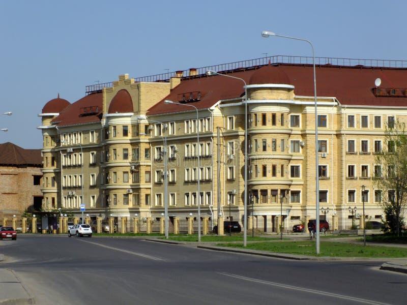 Здание Redidential в Астане стоковое изображение rf