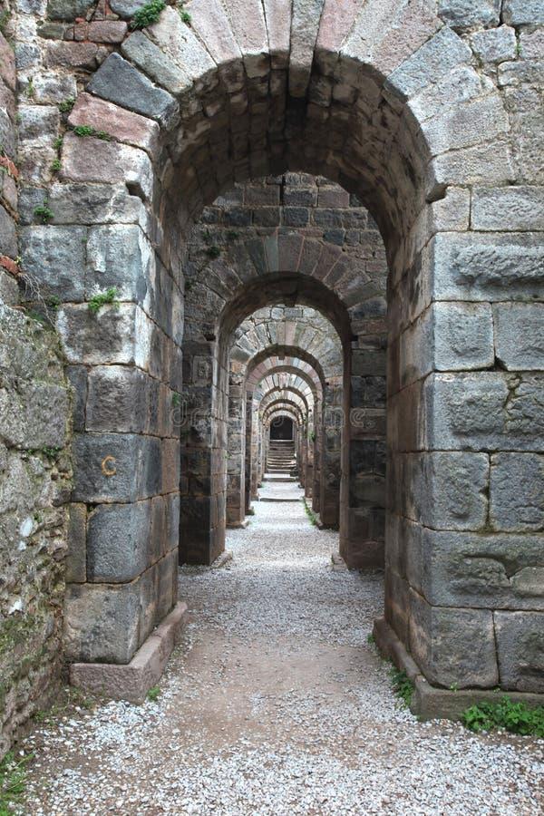 Акрополь Пергама в Турции стоковые изображения rf