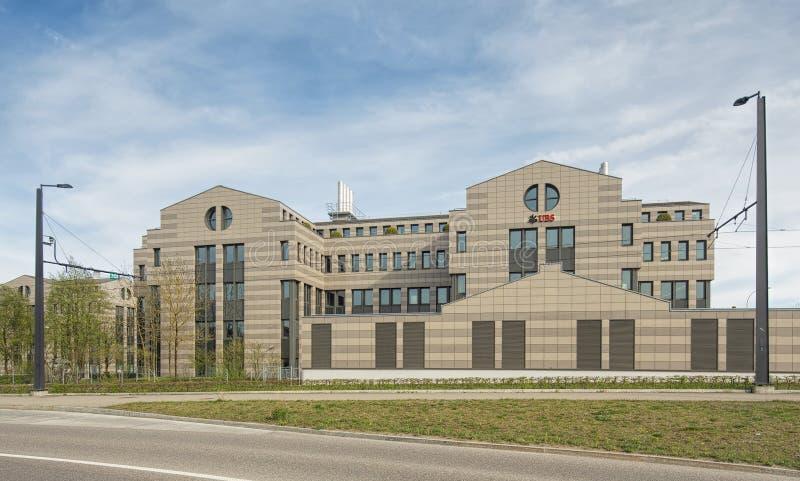 Здание UBS в Glattbrugg стоковые фотографии rf