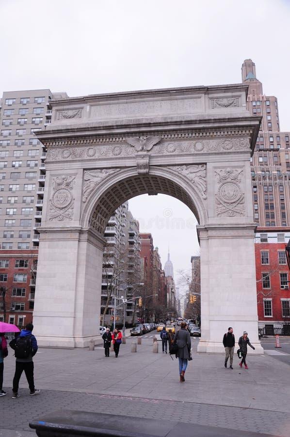 Здания архитектуры Нью-Йорка исторические стоковое изображение rf