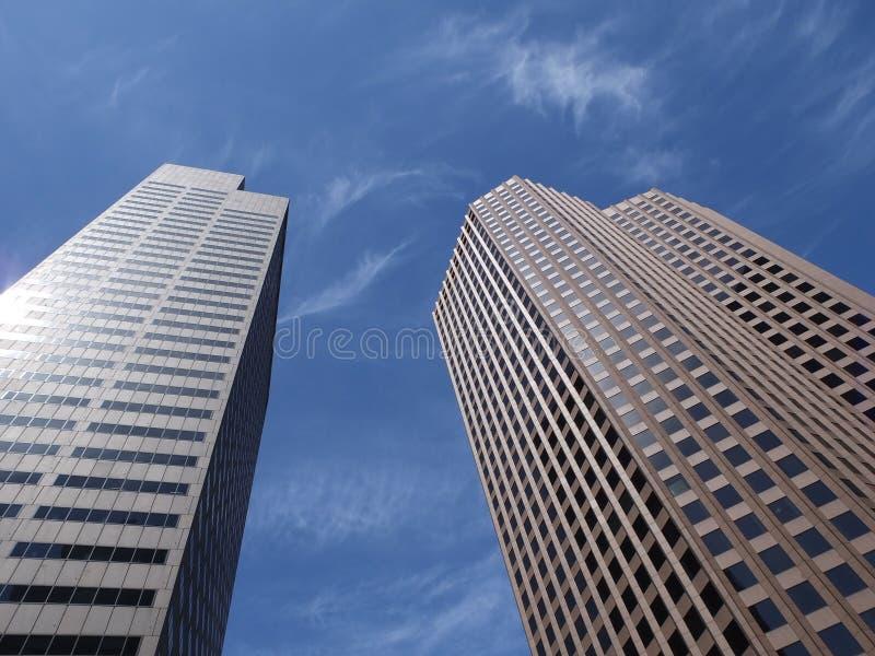 Здания банка Бостон стоковое изображение