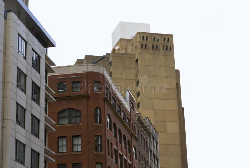 Здания в городе стоковое фото