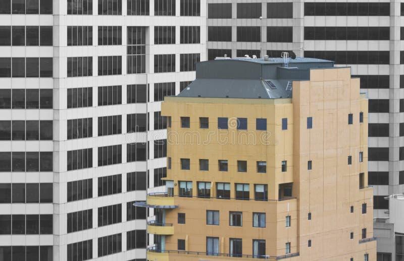 Здания в городе стоковое фото rf