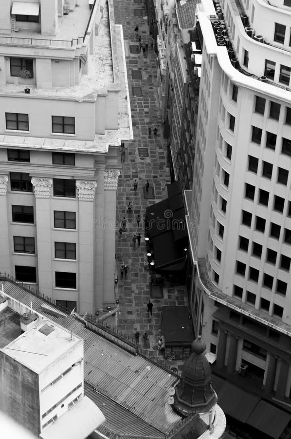 Здания года сбора винограда Сан-Паулу стоковые изображения rf