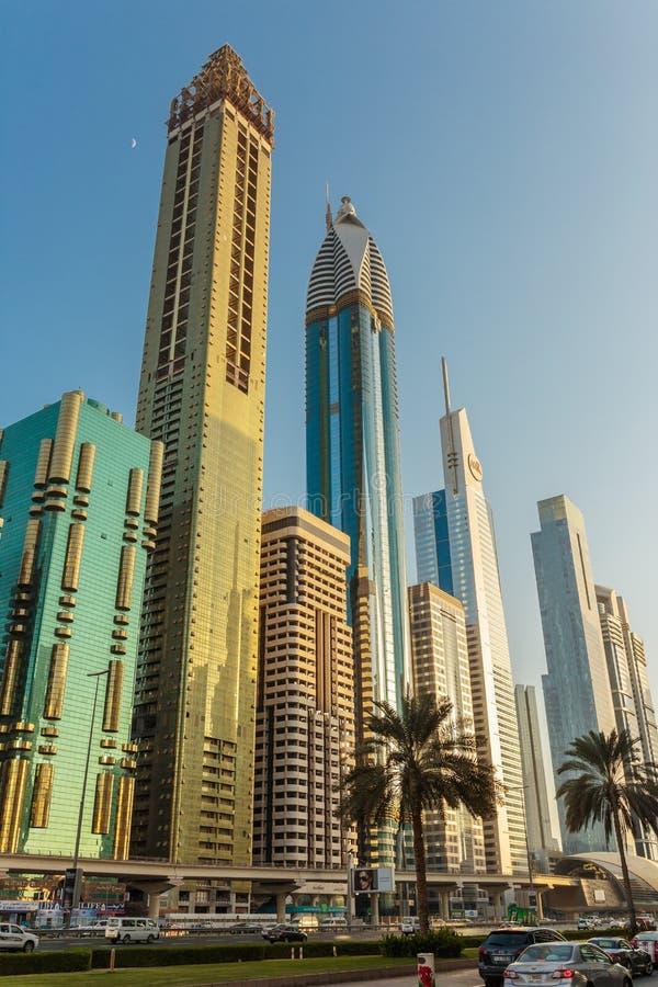 здания Дубай самомоднейший стоковое изображение