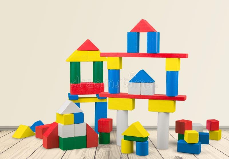 Здания игрушки стоковые фотографии rf