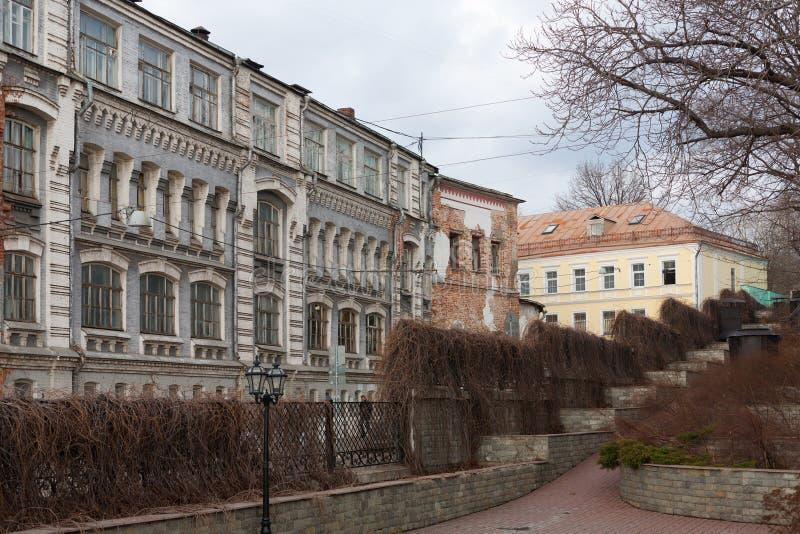 Здания и Morozov оформления Jurgenson садовничают в Москве стоковые изображения