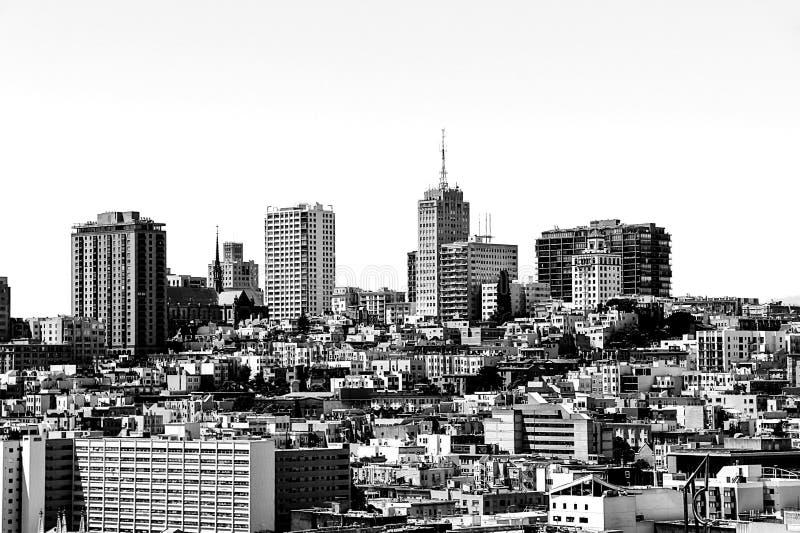 Здания на Сан-Франциско, США стоковые фото
