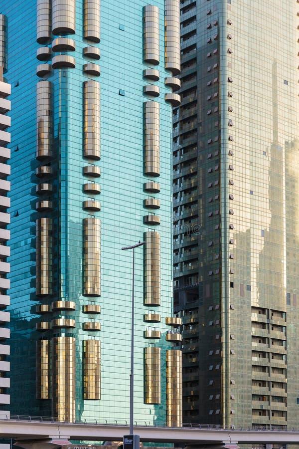 здания самомоднейшие Дубай стоковые фото