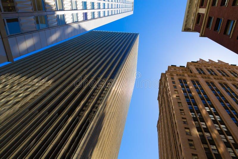 Здания Сан-Франциско городские на Калифорнии стоковые фото