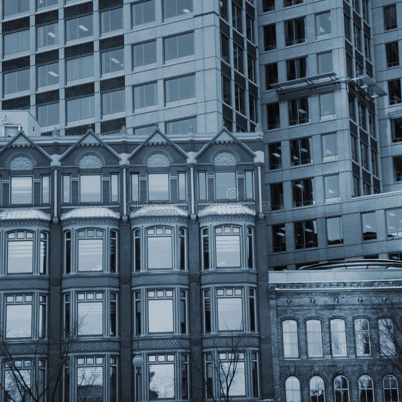 Здания фасада стоковые изображения