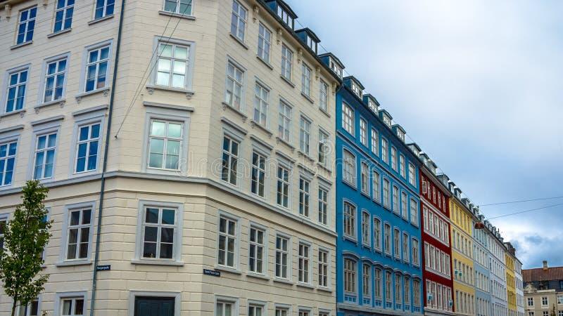 здания цветастые стоковое изображение