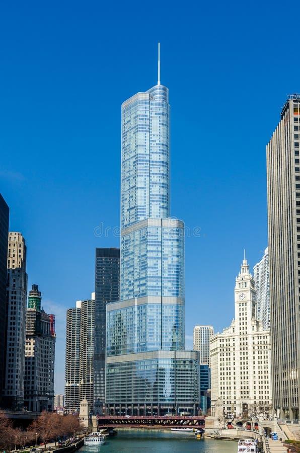 Download Здания Чикаго стоковое изображение. изображение насчитывающей ново - 81807905