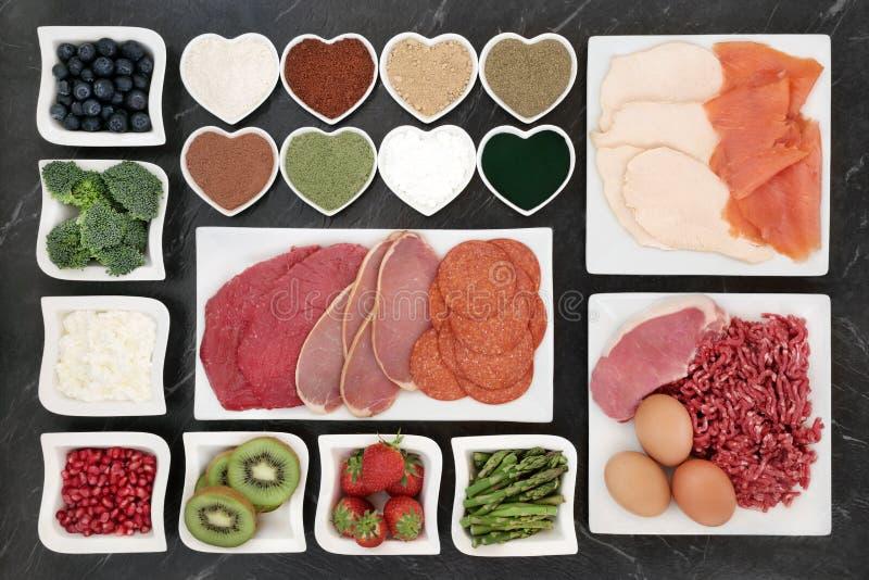 Download Здоровая еда здания тела стоковое фото. изображение насчитывающей pomegranate - 81801624