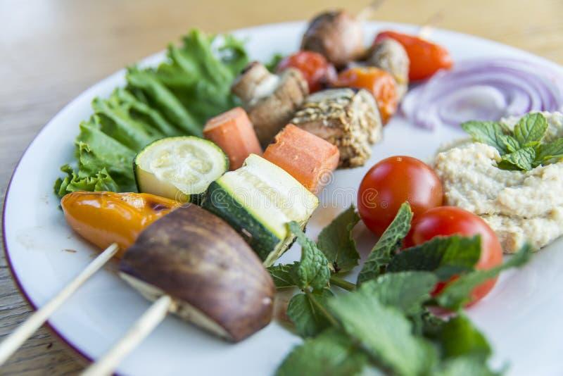Здоровая тарелка стоковая фотография rf