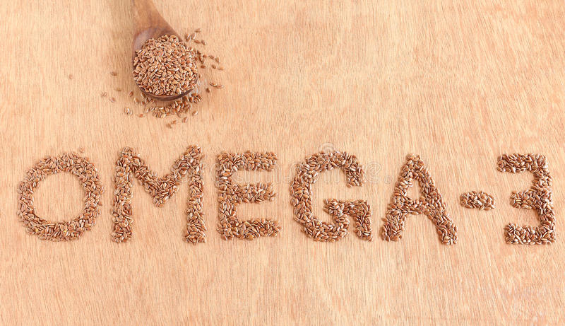 Здоровое семя льна еды стоковые изображения