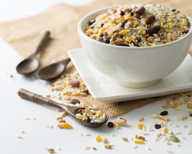 Здоровые зерна стоковая фотография rf