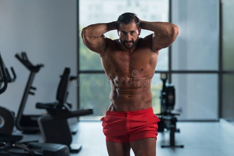 Download Здоровый латинский человек с 6 пакетами Стоковое Фото - изображение насчитывающей здорово, backhoe: 81815344